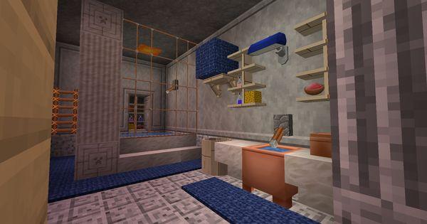 Minecraft Ma Salle De Bain Dans Mon Terrier A Chamdelune Sur