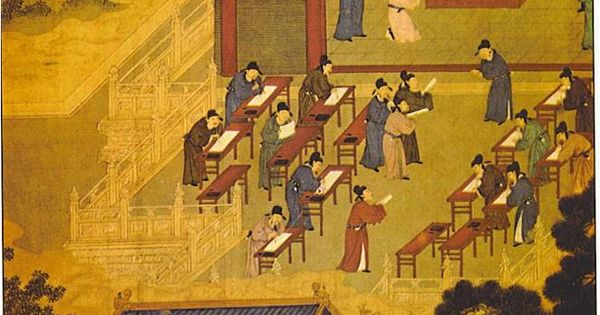 Ancient China Civil Service : Chinese civil service exam a innovation in which