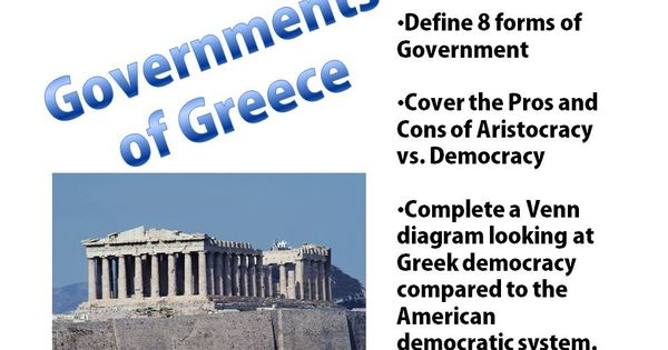 an analysis of the two major forms of government in ancient greece Government ancient china had a unique way of showing different time periods each stage of china or each family that was in power was a distinctive dynasty also between each dynasty was an unstable age of divided provinces.