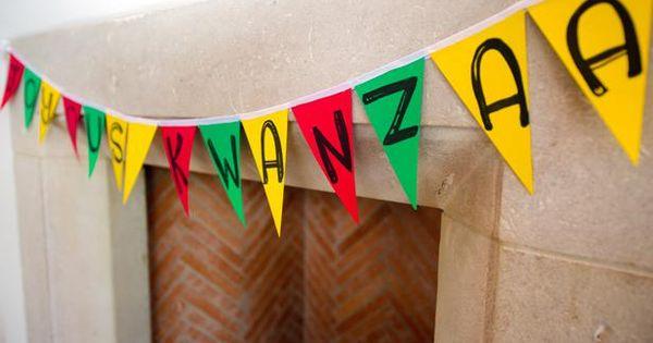 a colorful kwanzaa celebration