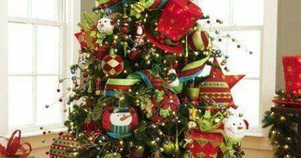 Rbol de navidad navidad pinterest navidad - Arboles navidad decorados ...