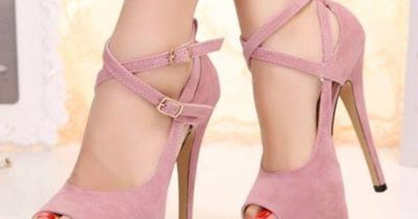 Light pink high heels  Shoes  Pinterest  Pink Lights and Heels
