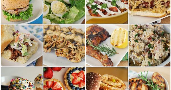 memorial day finger food recipes