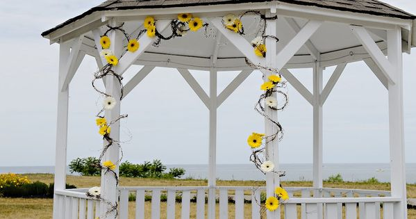 Gazebo Decorations For Wedding