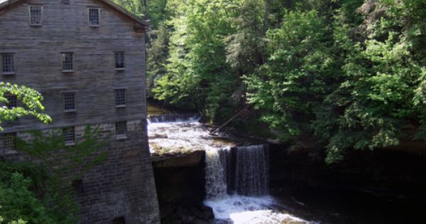 Lanterman S Mill Located In Youngstown Ohio Landscape Architect