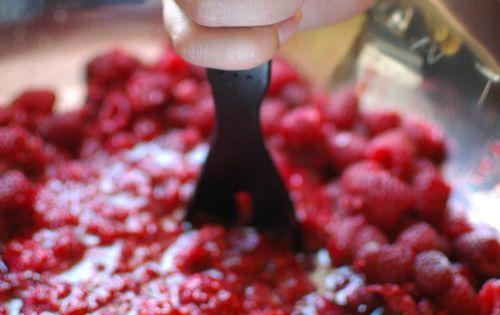 Crushed Raspberries