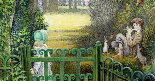 From Inga Moore 39 S Illustrations For The Secret Garden