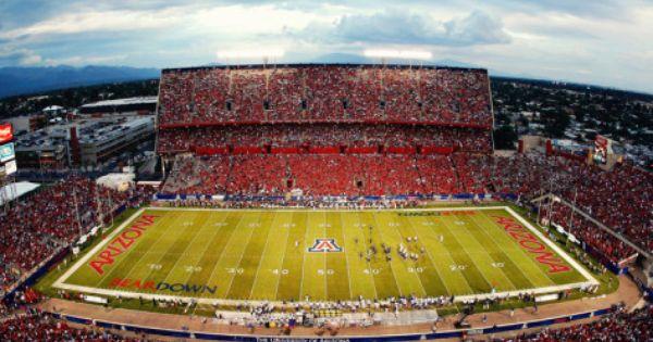 University Of Arizona Arizona Stadium Photo Allposters Com Arizona University Of Arizona Arizona Wildcats Football