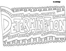 Inspiring Words Coloring Pages Quote Coloring Pages Color Quotes