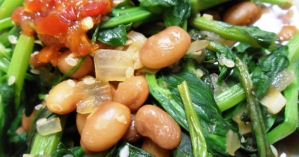 Broccoli Rabe, Pea Shoots, and Beans | For the love of veggies (and ...