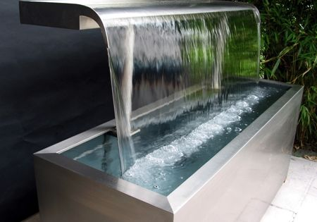 Brunnen im Garten: Stahltrog   Brunnen   Pinterest   Inspiration
