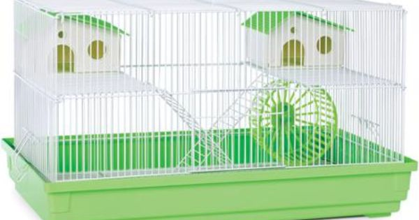 Prevue Pet Products Deluxe Hamster Gerbil Cage Walmart Com Cool Hamster Cages Gerbil Cages Hamster Habitat