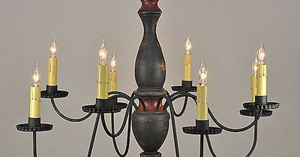 timeless lighting. 8arm arlington wooden chandelier in black over mustard with red trim by timeless lighting products pinterest and s