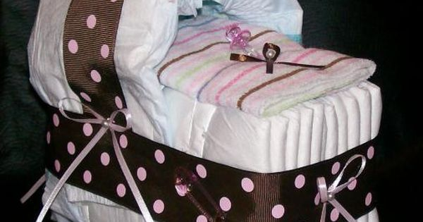 Baby shower idea,,, diaper cake!!!