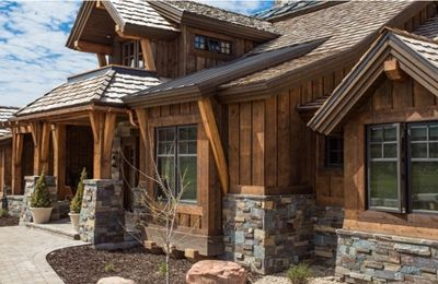 Ranchwood Barn Wood Siding And Timbers House Paint Exterior Log Cabin Siding House Exterior