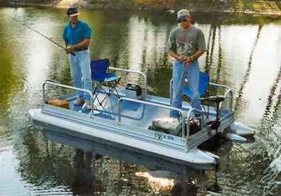 Personal Pontoon Lil Sport 510 Pontoon Boats Mid Mini ...