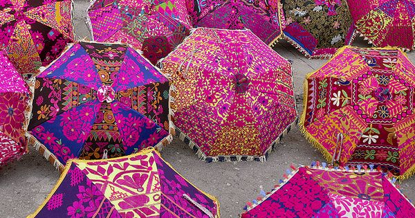 Indian Summer Umbrellas