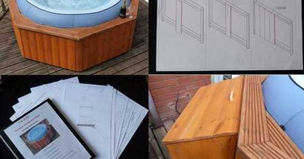 Woodworking Projects Hot Tub Garden Hot Tub Surround