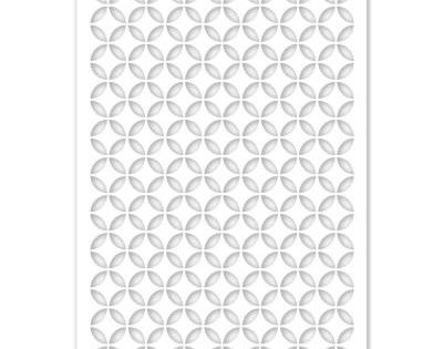 Acurio Latticeworks Morrish Circle 32 In X 4 Ft White Vinyl Decorative Screen Panel 3248pvcw Moorcir Decorative Screen Panels Vinyl Decor Decorative Screens