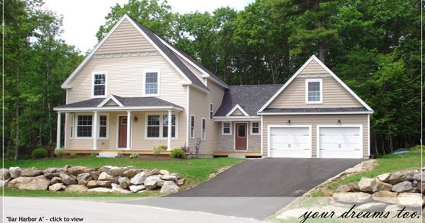 Cute cottage style home maine house plans pinterest for Maine house plans