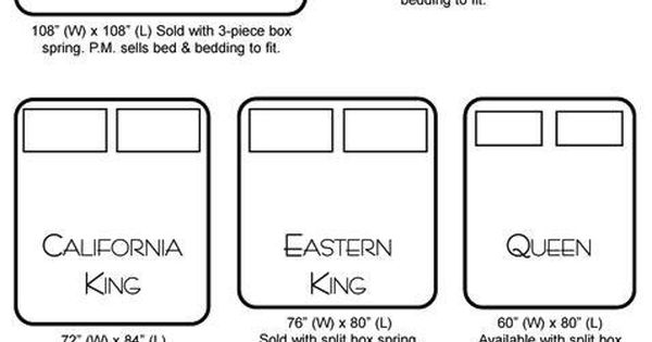 bed size chart i have cali king now but now i want an alaska king holy cow haha home. Black Bedroom Furniture Sets. Home Design Ideas