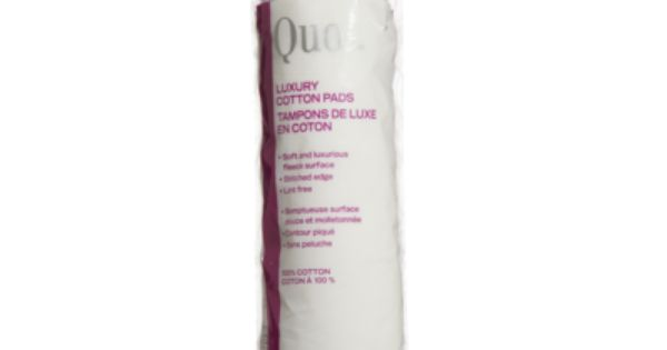 Quo Luxury Cotton Pads 80 Pads With Images Cotton Pads Eye