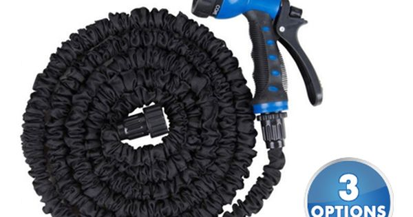 Expandable Garden Hoses With Spray Nozzle 100ft 19 97 Garden Hoses Nozzle Spray
