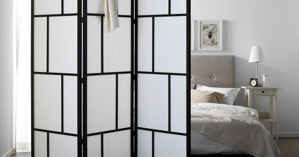 un paravent dans une chambre des cloisons amovibles et astucieuses linternaute s paration. Black Bedroom Furniture Sets. Home Design Ideas