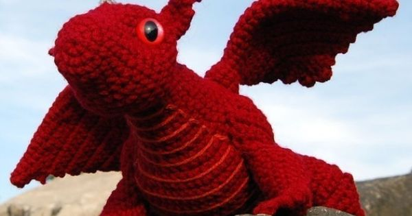 Crochet Pattern Baby Dragon Amigurumi PDF by theitsybitsyspider, $5.00