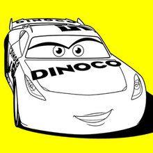 Cars 3 Cruz Ramirez Dinoco Coloring Page Disney Coloring Pages Cars Coloring Pages Coloring Pages