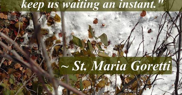 St. Maria Goretti.... | Saints - 56.1KB