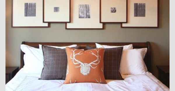 Over The Bed Wall Decor Master Bedroom Frames