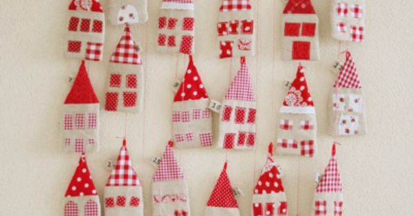 #red house advent calendar