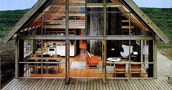 Country House From 1967. My dream lake house.