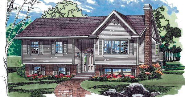 Split Level House Plans Raised Ranch Home Plans Amp House
