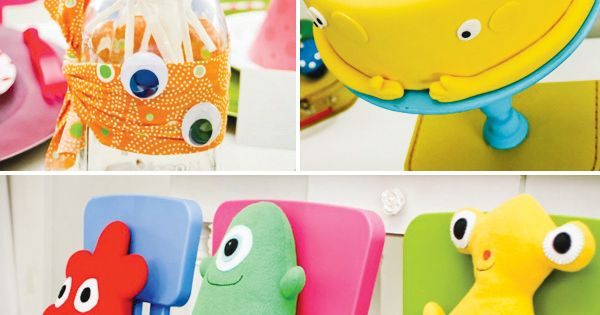 Little Monster Birthday Party Theme by elinor