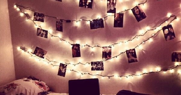 Love. I have christmas lights in my room, but I need to