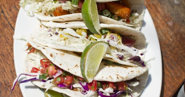 Fish Tacos at Poe's Tavern on Sullivans Island, SC! | food | Pinterest ...
