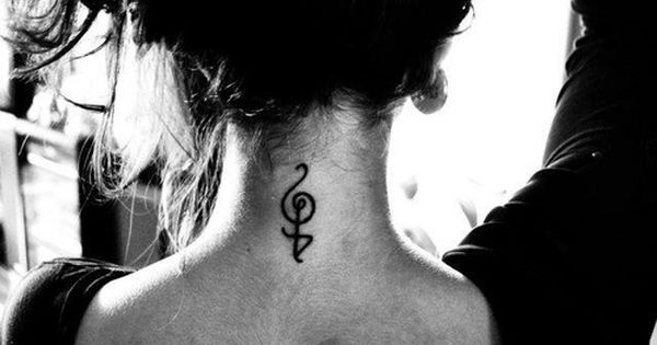 music symbol tattoo neck girly music symbol tattoos pinterest music symbols symbols. Black Bedroom Furniture Sets. Home Design Ideas