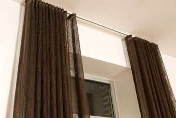 How To Convert Tab Back Curtains To Traverse Rod Pleated