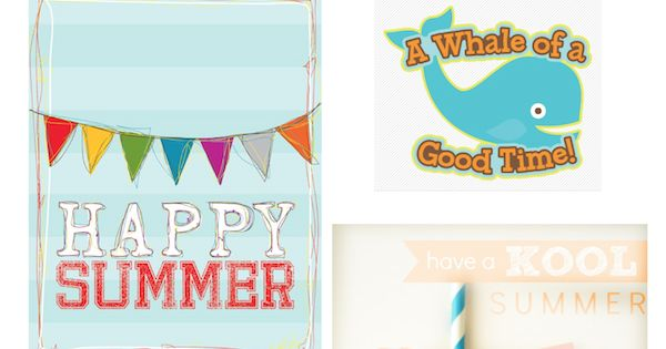 graphic about Have a Kool Summer Printable called Absolutely free Printable Joyful Summertime Reward Tags Conclusion Of College or university Calendar year