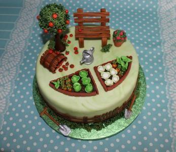 Garten Torte 1 Jpg Gartenkuchen Kuchen Gartenmotiv Motivtorten