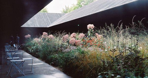 Serpentine gallery pavilion 2011 by peter zumthor for Piet oudolf serpentine gallery