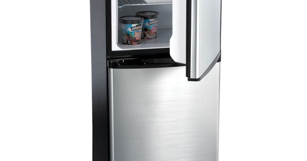 The only compact refrigerator with ice maker hammacher for 0 1 couch to fridge