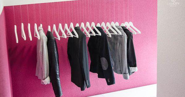 schwebende garderobe ikea hack diy my diy projects pinterest ikea hacks ikea hack and. Black Bedroom Furniture Sets. Home Design Ideas