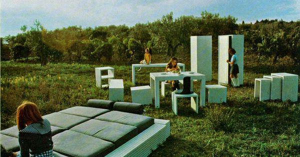Superstudio la serie misura idee per la casa - Superstudio muebles ...