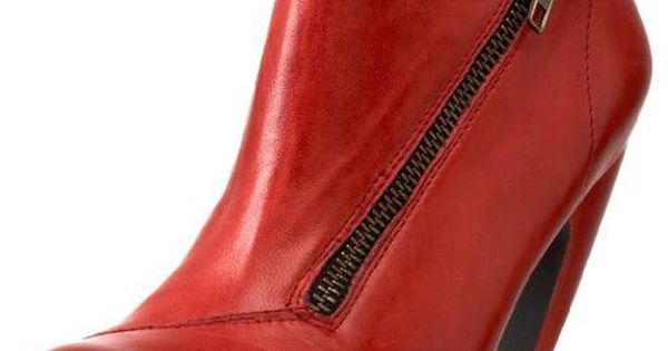 Oh. My. God. !!!! -- Miz Mooz Swift Booties In Red -