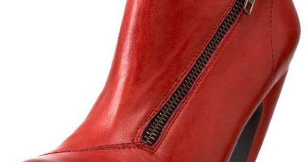 Oh. My. God. !!!! -- Miz Mooz Swift Booties In Red -