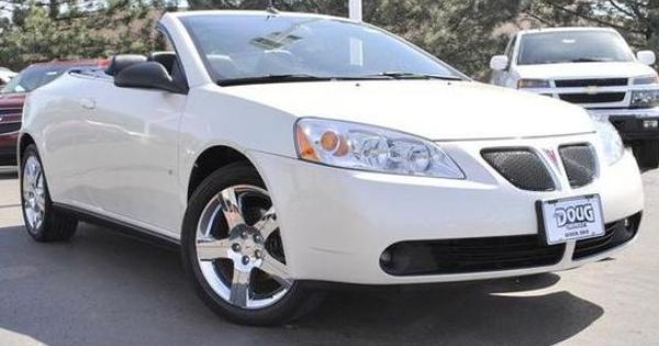 Cars For Sale 2008 Pontiac G6 Gt Convertible In Akron Oh
