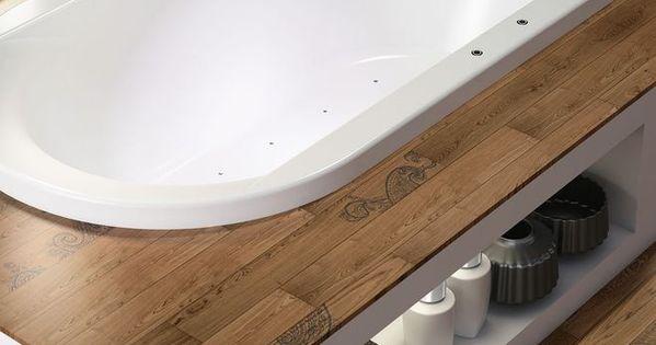 baignoire zen encastr e dans une estrade pour salle de. Black Bedroom Furniture Sets. Home Design Ideas